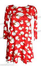 Vestidos de niña de 2 a 16 años rojos sin marca