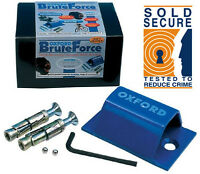 Oxford Brute Force Motorbike Motorcycle Ground Anchor Wall Anchor SOLD SECURE