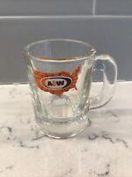 "Vintage AW Root Beer Mini U.S MAP Logo A&W Original Authentic 3"" Tall Mug"