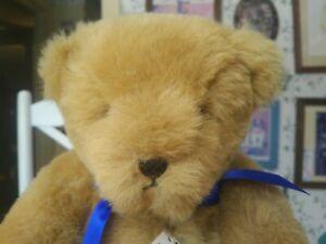 1990s Plush Artist Teddy bear Bedford Bears Edward Richard-Owen England 14im EUC