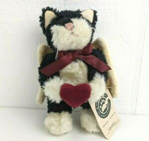 Boyds Bears Vintage Retired Love Me Tender Angel Cat Ornament Angelina II Heart
