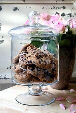 Boîte à biscuits XXL Bonbonnière Pot de stockage Pot en verre Boite à gâteaux