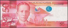 TWN - PHILIPPINES 207a - 50 Piso 2010 UNC - Prefix D