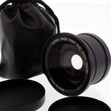 0.42x FISHEYE Wide LENS FOR Canon EOS Rebel T4i T3i T2i XSi T1i T6i T5i T6s 650D