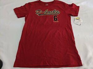MLB Arizona Diamondbacks David Peralta #6 Youth XL Short Sleeve T-shirt BNWT