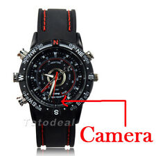 8GB Waterproof Wrist Watch Spy Camera HD 1280*960 Audio DVR DV Hidden Camcorder