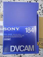 SONY DVCAM PDV 184N LOTE 10 VIDEO CASSETE TAPE NUEVO SIN USAR VIRGEN