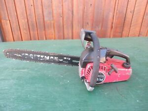 """Vintage CRAFTSMAN 2.3/14 Chainsaw Chain Saw with 15"""" Bar"""
