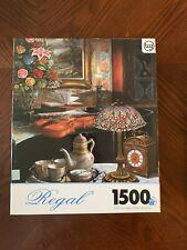 1500 Pc Regal Jigsaw Puzzle Sealed Tiffany Lamp