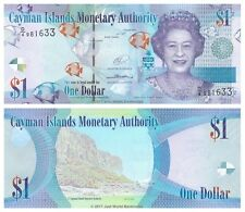 Cayman Islands $1 Dollar 2014 (2017) Prefix D/4  P-38d Banknotes UNC