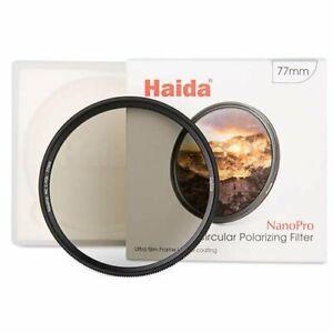 Haida 55 67 72 77 82mm NanoPro Multicoated Circular Polarizer Filter CPL C-Pol