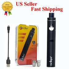 Electronic E Vapor Cigarette Vape Kit 40 Watts 1600mAh Airflow Control BLACK