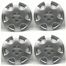 "Set of 4 Chrysler PT Cruiser Hubcap 15"" Wheel Cover OEM 5 Lug Silver 2003-2010"