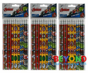 Marvel Avengers Pencils School Supplies Pencils Party Favors