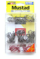 MUSTAD Bream Pack 100 pieces Hooks Bait holder Penetrator Wide Gap Hook + Box
