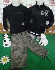 vêtements occasion garçon 2 ans,sweat IKKS,veste sport,pantalon