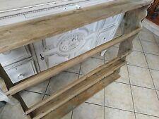 antik Regal massiv Holz uraltes  Tellerboard Wandregal alt Küchenregal