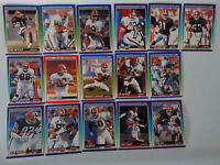 1990 Score Cleveland Browns Team Set of 16 Football Cards