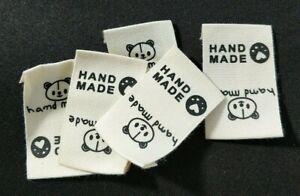 *DIY Nähen * Stoff Label Handmade * Tag Etiketten Einnäher Kleidung Taschen* #16