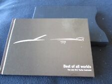2008 Porsche 911 Turbo Catalog Rare 997 Turbo Cabriolet Hardcover Brochure Case