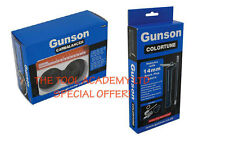 GUNSON MIXTURE 14mm SPARK PLUG COLOURTUNE & GUNSON CARBALANCER CARB MIX TOOL KIT