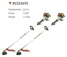RedMax BCZ230TS Commercial Gas String Trimmer Weed Wacker -TOUGH unit! 2 pc set
