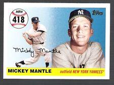 MICKEY MANTLE HOME RUN HISTORY 2007 TOPPS ~Home Run #418~ CARD!!