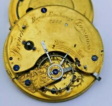 French, Royal Exchange, London English Fusee Pocket Watch Movement (P67*)