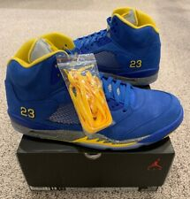 official photos 69611 52331 Nike Air Jordan Retro 5 V JSP Laney Varsity Royal Maize Charcoal Size 15  New DS