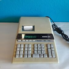 Vintage Monroe Desktop Printing Calculator 4140