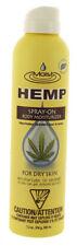 Moist Hemp Spray On Body Moisturizer. Instant results.