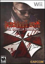 RESIDENT EVIL THE UMBRELLA CHRONICLES WII GAME *NEW* AUS EXPRESS