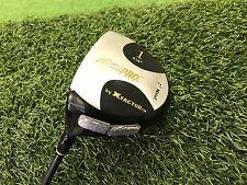 NICE X Factor Golf SUPER PRO Z2 Metal DRIVER 9.75* Left LH Graphite SENIOR Used