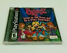Bratz Superstar, dress up, get down Sony PlayStation Ps1 Complete Tested - sf