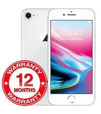 Apple iPhone 8 - 64GB 256GB Unlocked Smartphone Silver Grey Gold Colours Grades