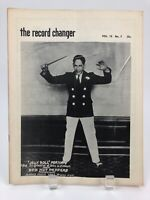 Vintage July 1955 THE RECORD CHANGER Jazz Music Magazine, Jelly Roll Morton