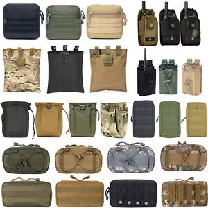 Tactical Molle Pouch EDC Multi Ppurpose Utility Bag Magazine Ammo Holder Pouch