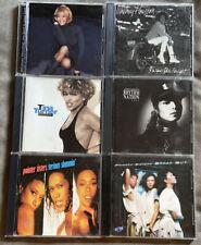 Lot Of 6 R&B Pop Rock Cds Whitney Houston Janet Jackson Tina Turner Pointer Sis