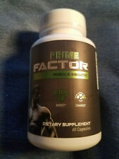 Prime X Factor Muscle Growth Boost Charge L-Arginine 60ct Exp 6/22