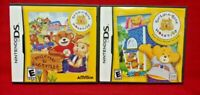 Build a Bear Workshop + Hugsville  - Nintendo DS Lite 3DS 2DS 2 Game Lot Tested