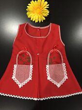 BABY GIRL'S DRESS 0-6 MONTHS / VESTIDO PARA BEBÉS RECIÉN NACIDAS