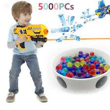 Crystal Paintball Water Gun Balls Darts Pistol Children Toys 5000 Soft Bullet