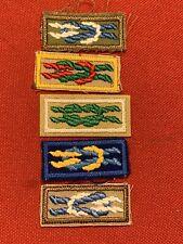 5 Boy Scout Square Knots