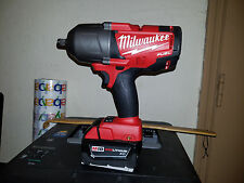 """New Milwaukee 2763-20 M18 Fuel 1/2"""" High Torque Impact Wrench W/ 3.0Ah Battery"""