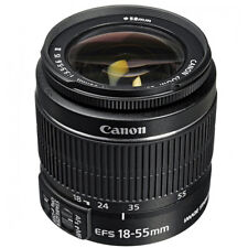 Canon EF-S 18-55mm F/3.5-5.6 II IS Lens  SLR DSLR zoom NEW Worldwide ship
