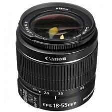 Canon EF-S 18-55mm F/3.5-5.6 II IS Lens  SLR DSLR zoom NEW Worldwide ship