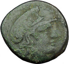 LYSIMACHOS Macedonian King 305BC Greek Coin Athena Trophy Tropaion i34296