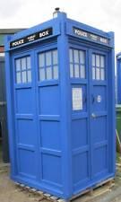 Police telephone box similar Tardis  FULL SIZE   4ft x 4ft x 8ft  Normal finish