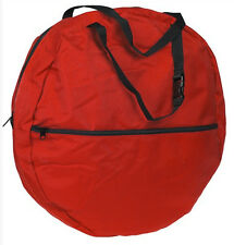 Kids Nylon Rope Bag Youth little looper NEW red with web handles team roping