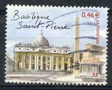 TIMBRE FRANCE OBLITERE N° 3530 ROME BASILIQUE ST. PIERRE Photo non contractuelle